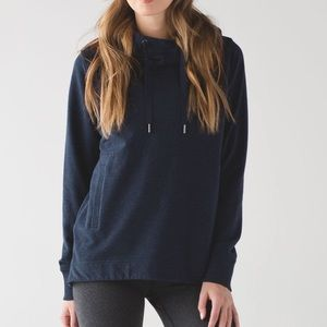 Lululemon Split Pullover Naval Blue Size 2
